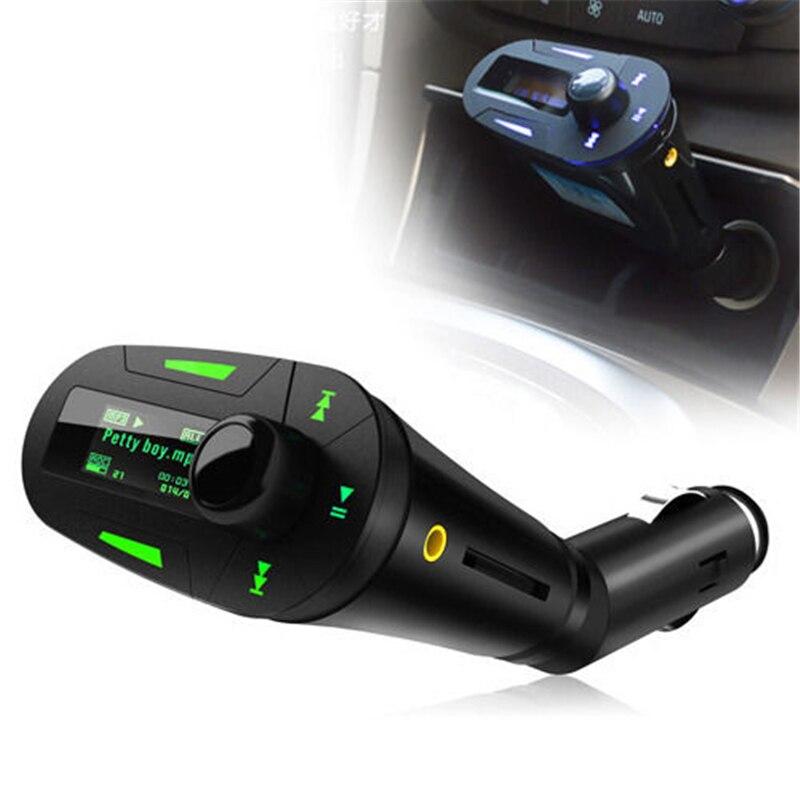 Car Kit MP3 Player Wireless FM Transmitter Radio Modulator USB SD Remote Control Player Car Kit MP3 Player FM Transmit