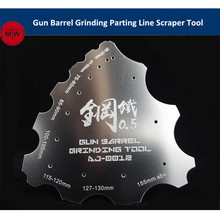 Gun Barrel Grinding Parting Line Scraper Thickened Hand Tool General Use for Military Model Hobby Kits AJ0012