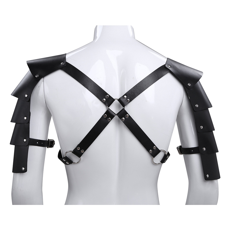 YiZYiF fetish Zentai Harness Men Body Chest Harness Gay BDSM Belt Bondage Pirate chest Costume With Armor Buckle Sexy Lingerie