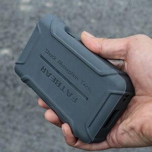 Image 3 - Anti Skid sağlam darbeye dayanıklı zırh tam koruyucu deli kılıf kapak için Sony Walkman NW WM1A WM1A NW WM1Z WM1Z toz fişi ile