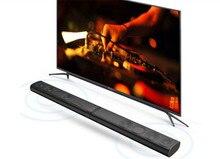 new 80w aluminium alloy soundbar virtual 5.1 home theater for tv in transformation design hifi sub woofer with remote control