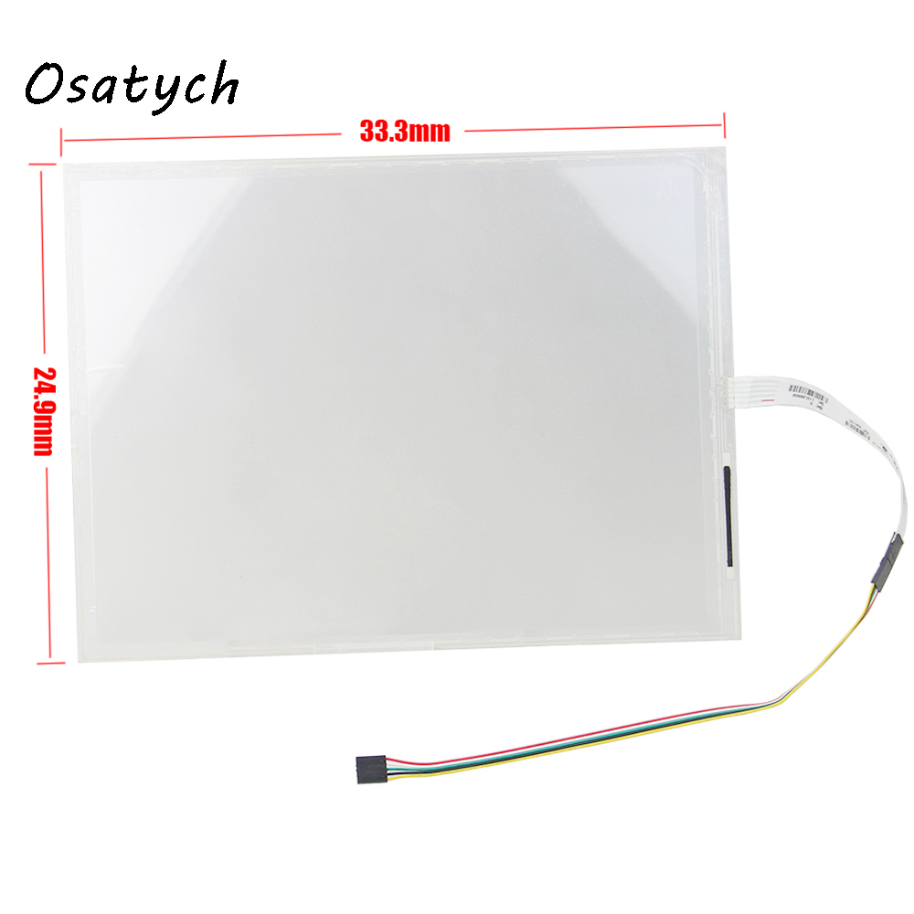 15 Inch 5 Wire For ELO SCN-A5-FLT15.0-Z19-0H1-R 362740-9124 Touch Screen Panel Replacement 5 wire 12 1 inch elo touch screen scn at flt 12 1 z01 oh1 r elo 12 3 inch 5 wire touch screen win10 compatible