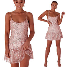 d0b98d4921 Compare Prices on Rose Gold Sequin Prom Dress- Online Shopping/Buy ...