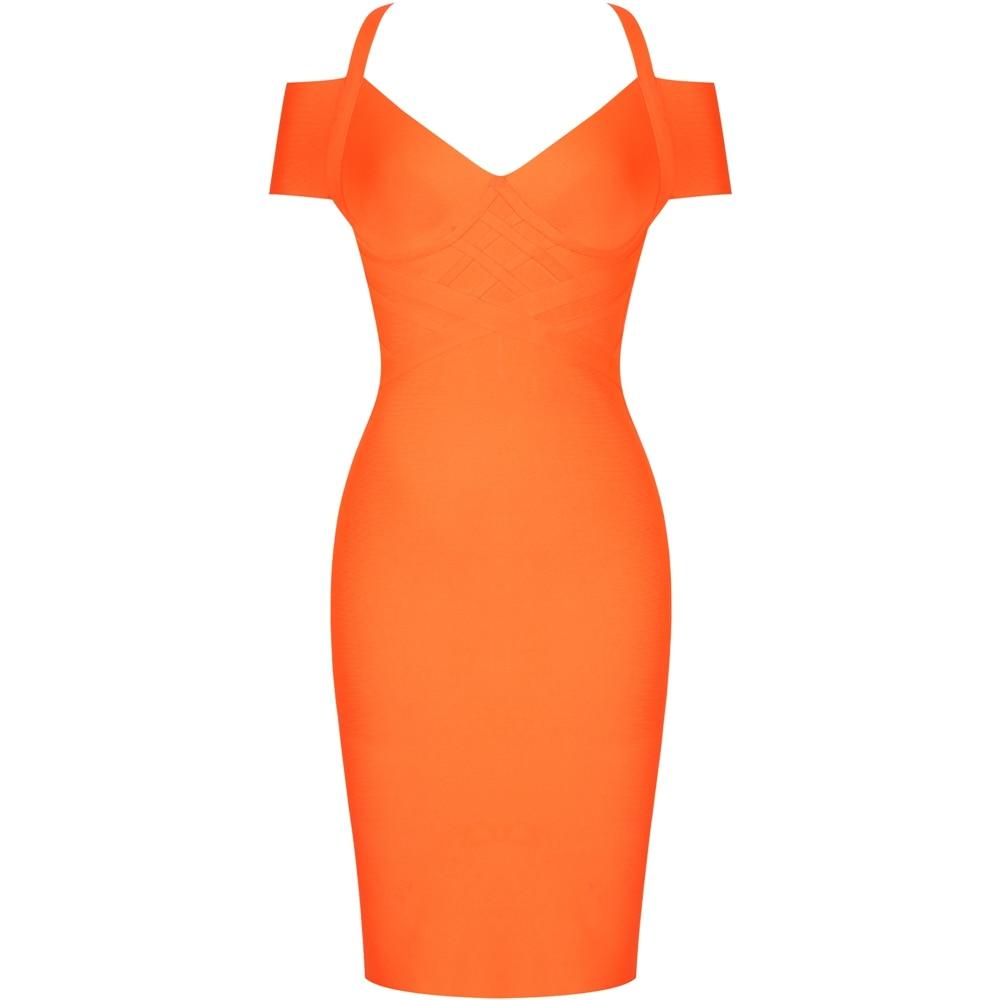 Off Last Dress Orange 13