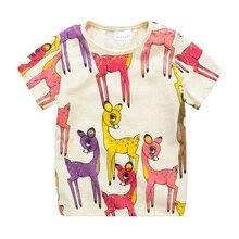 2018 Kids T shirt Camisetas Girls Summer Top T Shirts Camiseta Kitty Tshirt Baby Roupas Girl