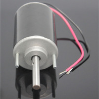 12V 24V Permanent Magnet DC Motor 48W High Speed Motor 3420 Speed Governing Normal Reverse Transfer