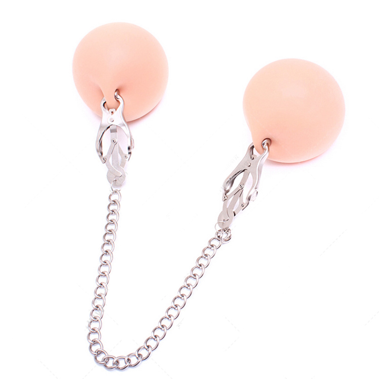 Flirting Stainless steel Nipple clip appeal Women Metal Clamps Bondage Nipples Clips Sex Games Toys For Women Couples Sex shop