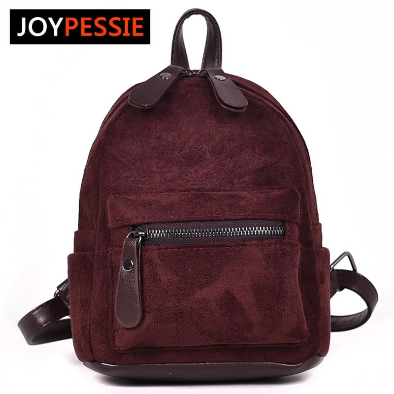 Hot Women Backpack Matte Leather Mini Backpack For Ladies Small Shoulder Bag Travel Bag Teenage Girls Women Backpack