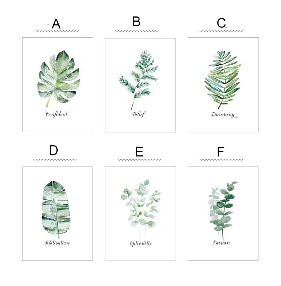 Leaf Plant Frosted Glass Film Window Sticker Customize Static Nordic Bathroom Kitchen Potted PVC Privacy Window Film Home Decor