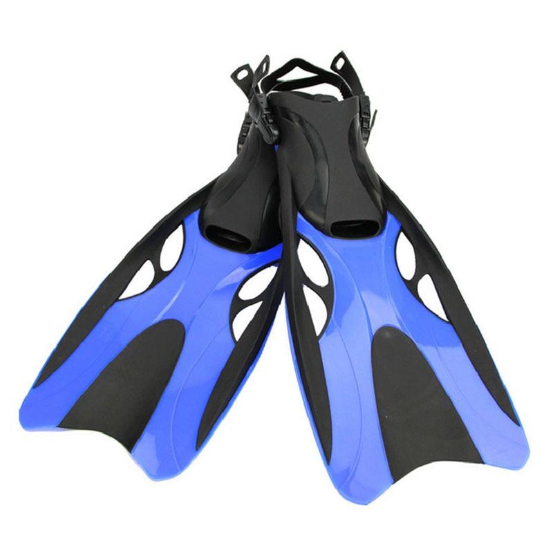 Palme de natation pour Adulte Réglable De Natation Grenouille Chaussures Silicone De Plongée Professionnelle Équipe Ouvert Plongée En Apnée Long Palmes de plongée