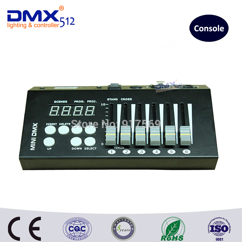 Dhl libera il trasporto 9 v batteria 54 canali mini luce consoleDhl libera il trasporto 9 v batteria 54 canali mini luce console