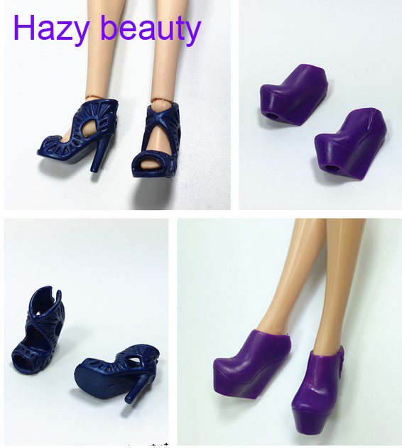 Hazy beauty Shoes for barbie dolls BBI00778