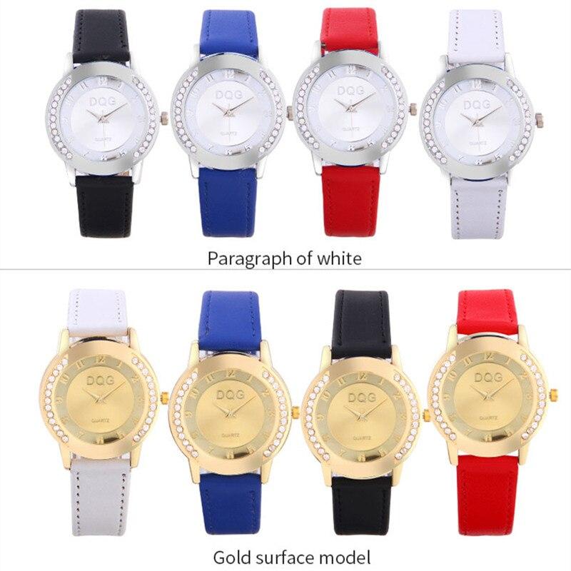 Dropshipping Lüks Marka Moda Casual Altın Saatler Kadınlar Kristal - Kadın Saatler - Fotoğraf 6