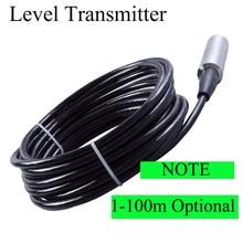 Input level transmitter ,water Sensors Range:10m (default) 5-100m , 4-20mA integrated liquid Level sensor