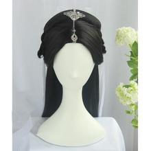 80cm piękne włosy księżniczki zestaw do fotografii sukienka wróżki up bal przebierańców starożytna chińska dama włosy TV play