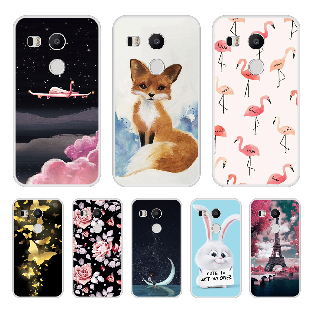 save off 84acb b26fc Google Nexus 5X Soft Silicone TPU Cool Design Patterned Print Cover For  Google Nexus 5X Phone Case