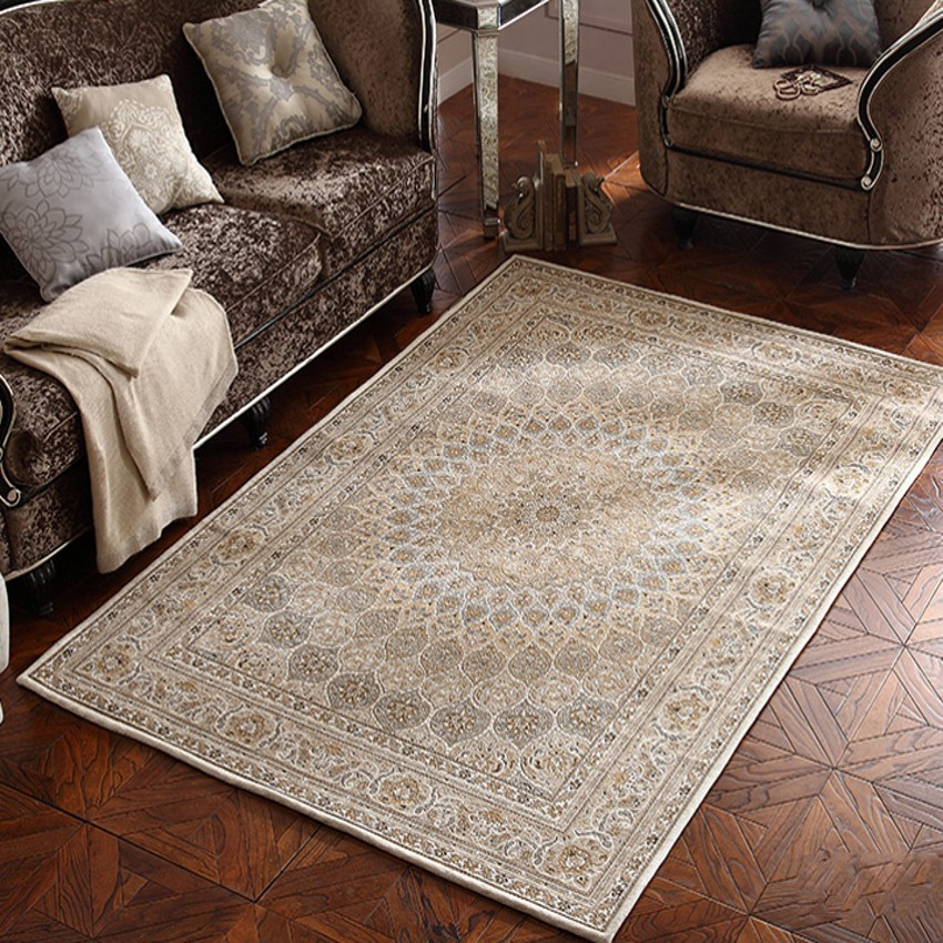 Big Size Classical Persian Living Room Rug Coffee Table