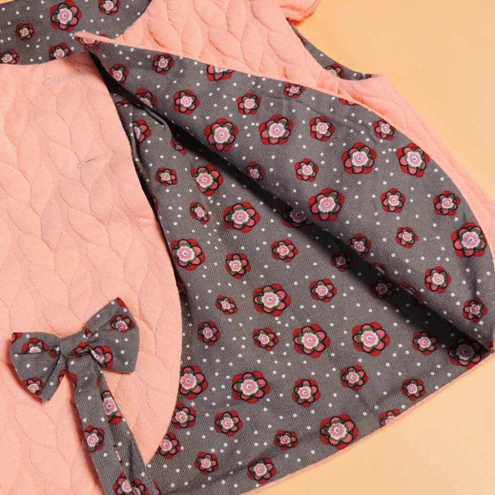 Baby Mädchen Kleidung Frühling Weibliche Baby Floral Weste Kleid - Kinderkleidung - Foto 5
