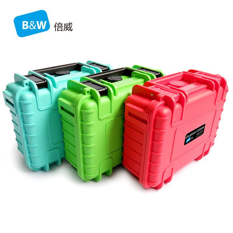 Tool Case Toolbox Impact Resistant Waterproof Protective Camera Case Security Equipment With Pre-cut Foam B&W Type 500