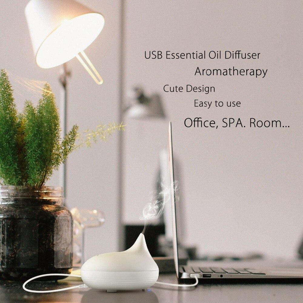 Aromacare USB difuzor arome eteričnega olja ultrazvočni hladen - Gospodinjski aparati - Fotografija 3