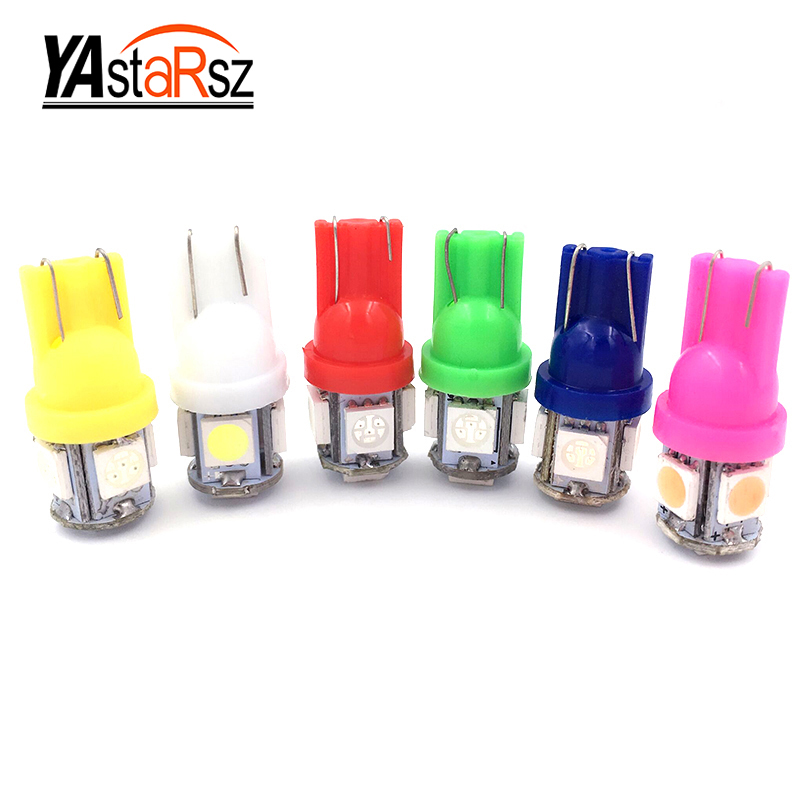 10pcs High Quality White / blue / red / green / yellow / powderT10 5 SMD 5050 LED 194 168 W5W Wedge Car Dome Map Read Clearance 1pc white or green polishing paste wax polishing compounds for high lustre finishing on steels hard metals durale quality