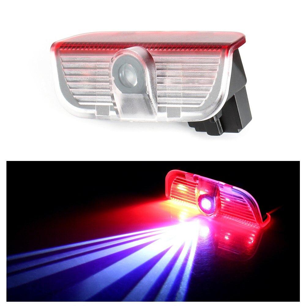 1 Piece Car Door Welcome Light Car LED Projector Laser Logo Door Light For Volkswagen VW Golf 5 6 7 Passat B6 B7 Jetta MK5 MK6
