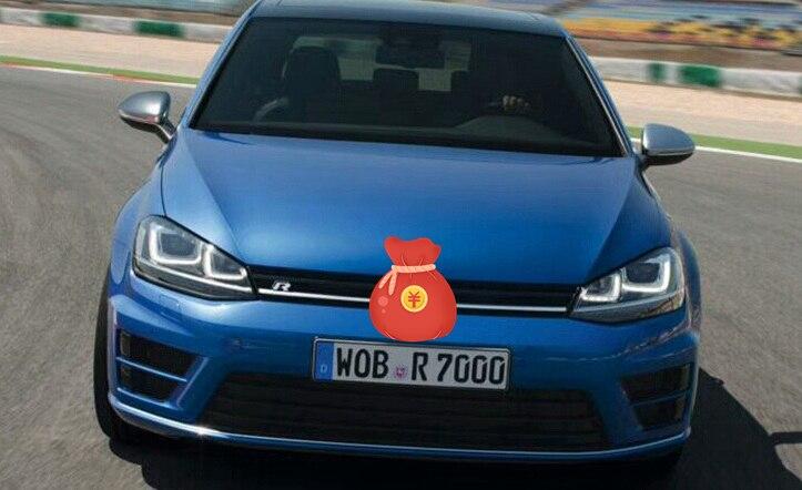 PARA VW Golf 7 MK7 Xenon Farol Auto Nivelamento Do Alcance Dos Faróis Curvas AFS Fio/cabo/Chicote Xenon Lâmpada DIODO EMISSOR de Luz - 3