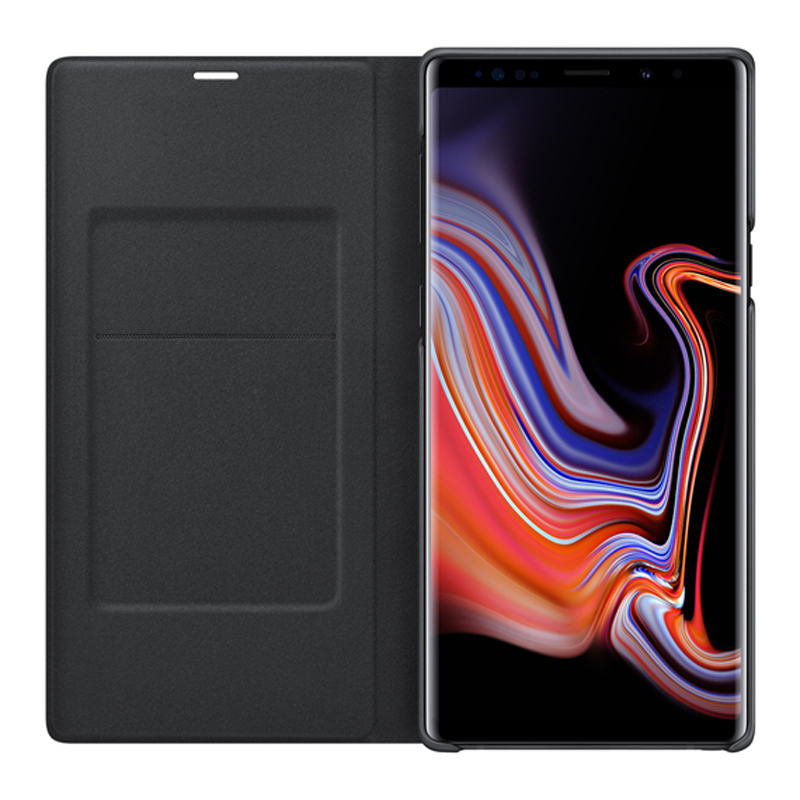 Image 5 - For SAMSUNG Original LED View Cover Smart Cover Phone Case for Samsung Galaxy Note 9 Note9 SM N9600 N9600 Original Phone Cover-in Flip Cases from Cellphones & Telecommunications