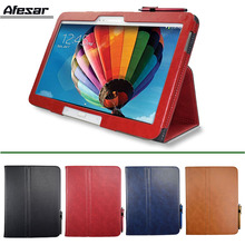 GT p5200 p5210 p5220 Folio Slim PU Leather Stand Cover Case for Samsung Galaxy Tab 3 10.1 Book Flip Cover Auto Sleep
