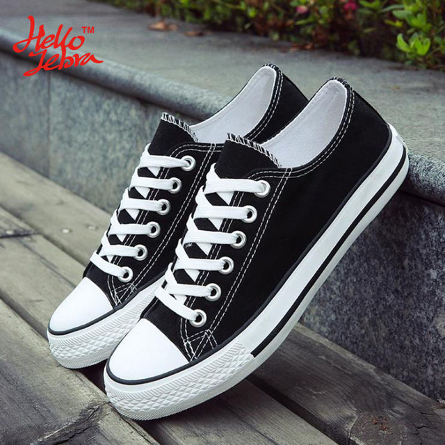 Hellozebra Mujeres Casual Zapatos de Lona Clásico de Encaje Hasta Pisos Sólidos Transpirable Junta de Cuero Suave Zapatos de Los Estudiantes 2016 Otoño Nueva
