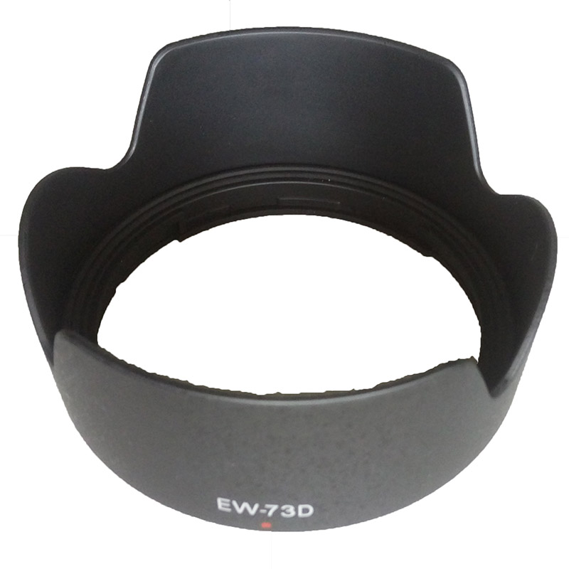 EW-73D 67mm kamera hood hood petal baynet lens hood for canon 80d 60d 70d 760d EF-S 18-135mm f / 3.5-5.6 IS USM high quality
