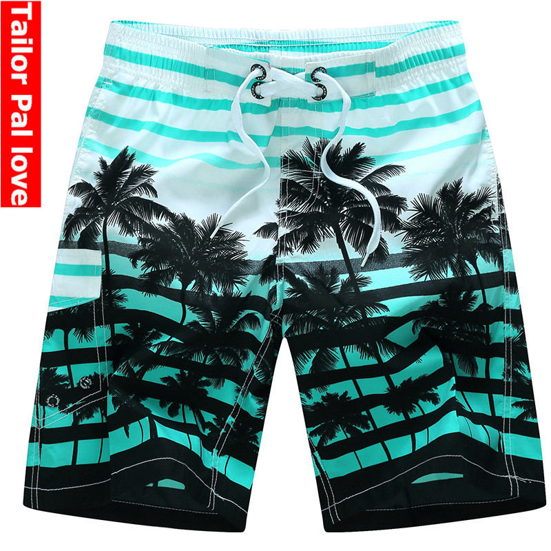 desmiit For Men Shorts Plus Size Swimwear Mens Swim Trunks Bermuda Surfing Beach