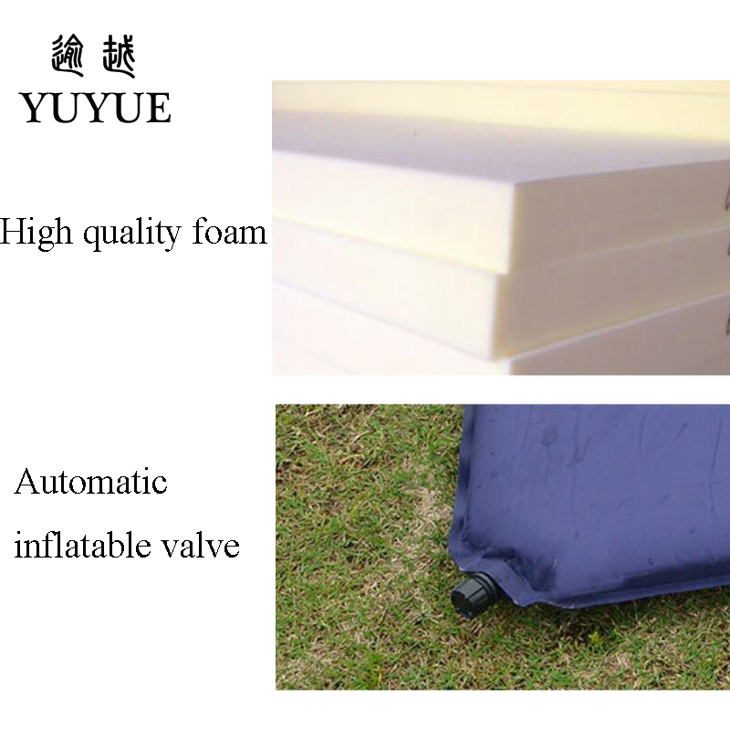 5cm Thick Double Resident Mattress For 2 Person Outdoor Camping Tent Air Bedding For The Air Mat For Beach Colchoneta Camping 3