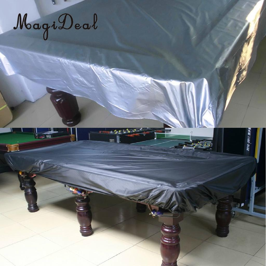 Merveilleux MagiDeal 7 Foot Universal Waterproof DustProof Cloth For Rectangle Shaped Pool  Table Billiard Cover Tableclo
