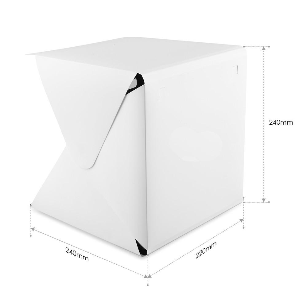 YIXIANG Mini estudio plegable portátil Mini fotografía portátil - Cámara y foto - foto 5