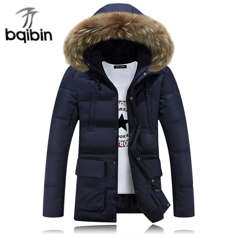 Plus Size M-4XL Winter Jacket Men Brand Clothing 2017 Parka Men Big Fur Collar Hooded Cotton Jacket Men Casual Coat winter jacket men 2016 brand parka plus size men s hooded parka zipper quilted coat casual jackets