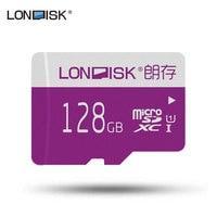 LONDISK 128GB microSDXC / TF / Flash Card UHS I (U1) / UHS I (U3) / Class 10 (C10) Memory Cards for Drone / Smart Phone
