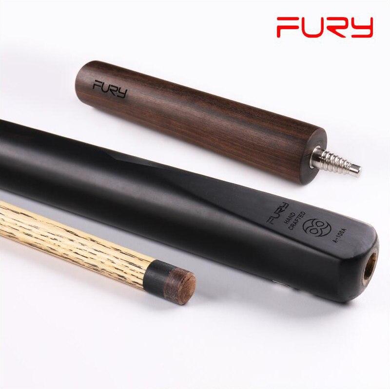 FURY A001 3/4 Piece Snooker Cue with Case Billiard Stick Kit 11mm Tip Snooker Kit Professional Highend Cue Ash Wood Billar 2019