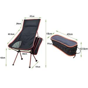 Image 4 - 휴대용 접이식 문 의자 낚시 캠핑 테이블 접는 확장 하이킹 러시아 중국 주식 빛 야외 의자 테이블