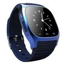 Original Reloj Inteligente Bluetooth M26 reloj Barómetro Alitmeter Podómetro Music para Android IOS Teléfono pk u8 smartwatch dz09 u80 w8