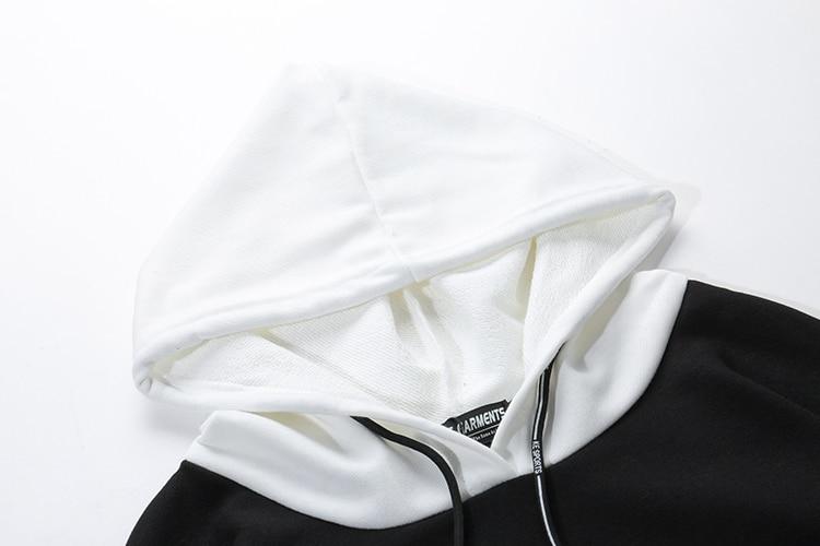 Novel ideas Men's Hoodies Sweatshirts Skateboard Men Woman Pullover Hoodie Clothing Pocket Print Hip Hop Tops Clothes US Size 75