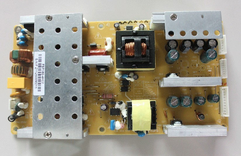 3BS0210813GP FSP180/FSP150-4H02/4H03 Good working Tested led телевизор mystery mtv 2224lt2