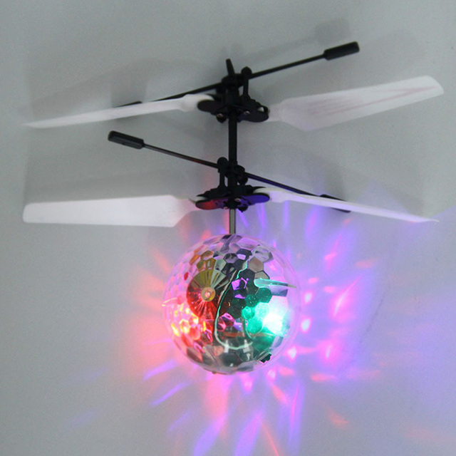 Glowing toy boy mini drone helicopter infrared induction aircraft remote control