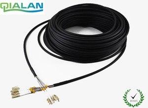 Image 1 - 200 m LC UPC FTTA cordon de raccordement SM CPRI extérieur 4 core FTTA câble de raccordement G652 LSZH