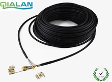 200m LC UPC FTTA Patchcord SM enlaces al aire libre 4core FTTA cable de parche G652 LSZH