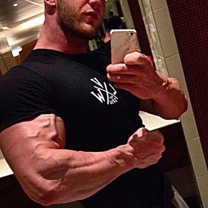 VIKING Gyms T shirt Crossfit Brand Clothing Fitness T-shirt compression Short Sleeve Tshirt Bodybuilding Workout Tee-shirt Plus 2