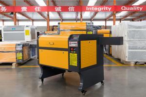 Image 2 - משלוח חינם 50w 4060 co2 לייזר חריטת מכונת, 220 v/100 v לייזר מכונת חיתוך CNC, תצורה גבוהה לייזר חרט