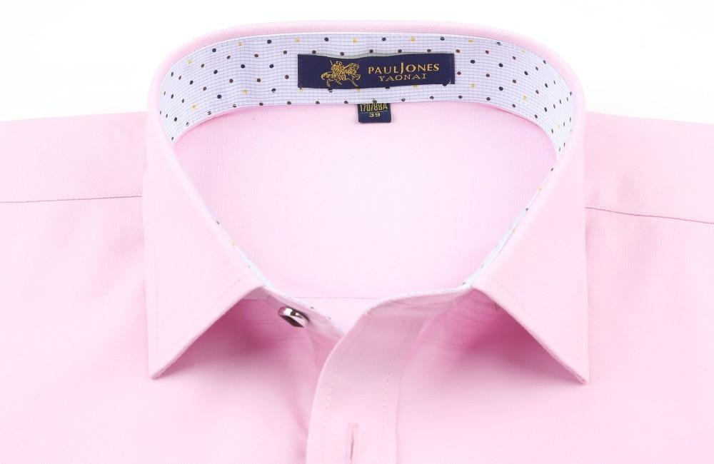 PaulJones D422x Kualiti Fesyen Korea Mens Linen Shirts Lengan Pendek - Pakaian lelaki - Foto 3