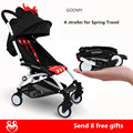 30 colors!big basket 5.8kg  baby stroller umbrella car newborn boy bb four trolley light folding portable shock absorbers