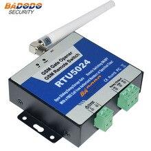 Badodo 200 משתמשים מוסך פותחן GSM מודול גישת בקר דלת באמצעות SMS GSM 3G שער פותחן RTU5024